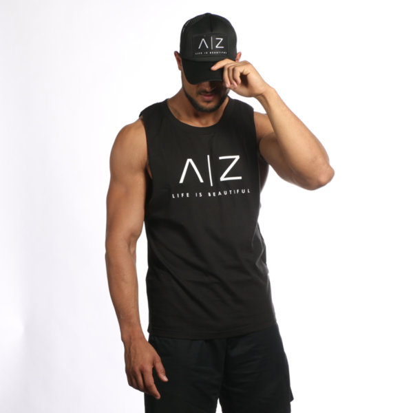 AZ Men Tank-Top - BLACK